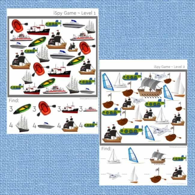 This is a great unit of 100+ pages long! It will give you plenty to do, all while having a lot of fun! Come and look at the best 32 printable land, water and air transportation activities for kids.