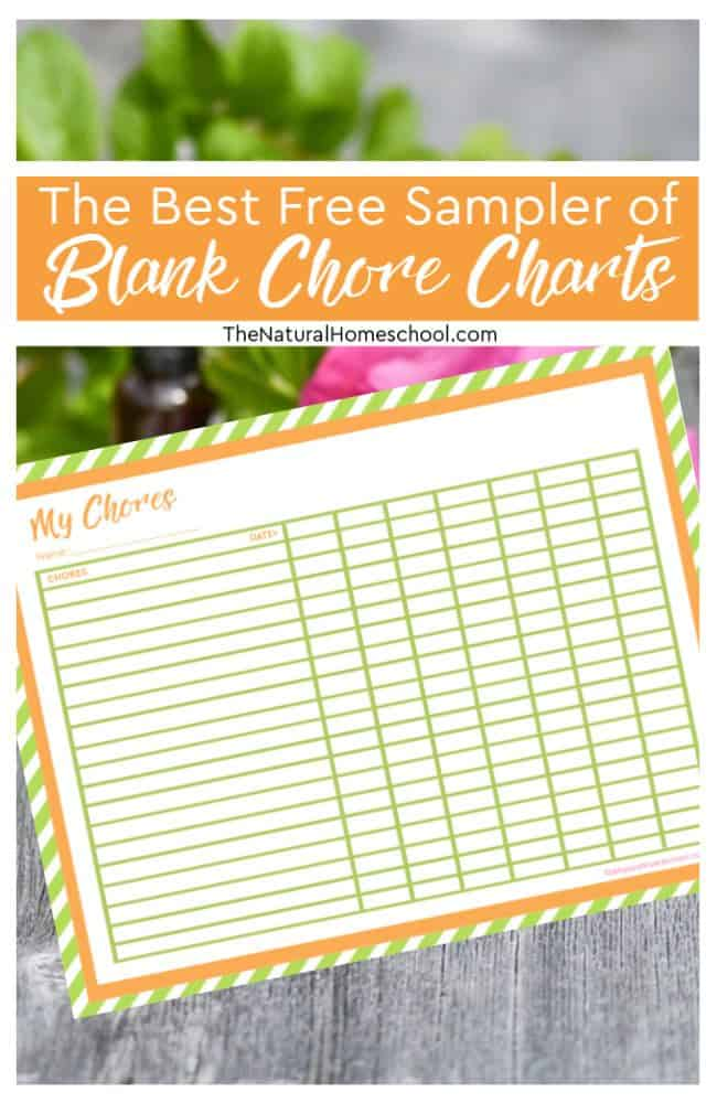 In this post, we will go into the best free sampler of Blank Chore Chartsthat will inspire you to get your kids helping around the house more, but more importantly, they will be on the right path to independence and responsibility.