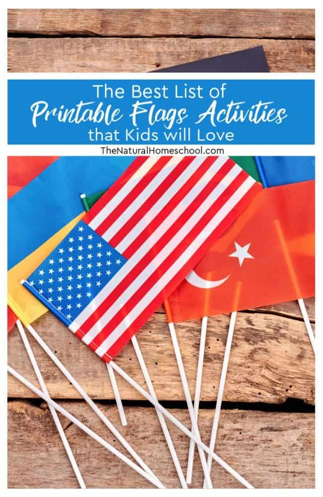 photo about Printable Flags known as The Least complicated Checklist of Printable Flags Things to do that Youngsters will