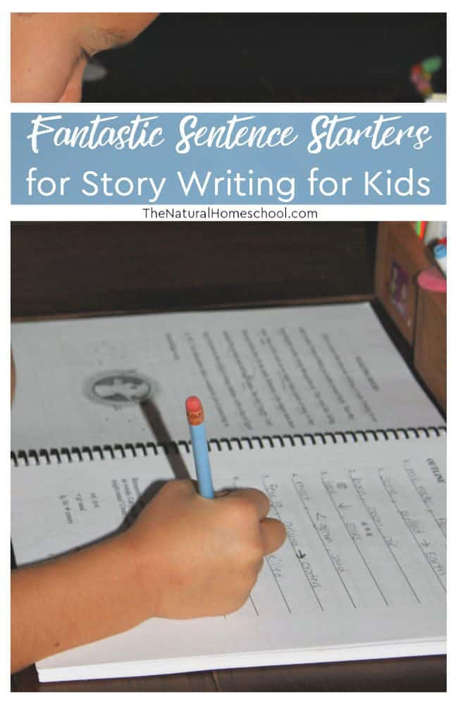 In this post, we will talk about kids writing and learning to do it right. It is so exciting for us, especially because I have seen benefits. Take a look at the most fantastic sentence starters for story writing with kids.