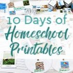 10 Days of Homeschool Printables