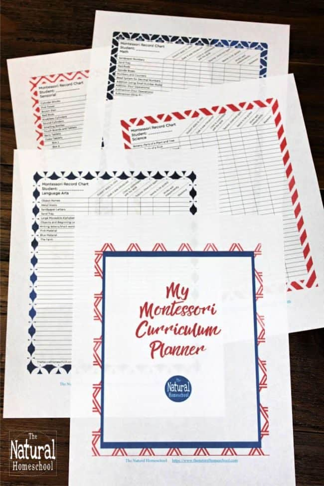 In this post, I will be sharing with you a list of free Kindergarten homeschool curriculum for doing Montessori at home. You can get it as a printable to refer to when you are teaching your lessons.