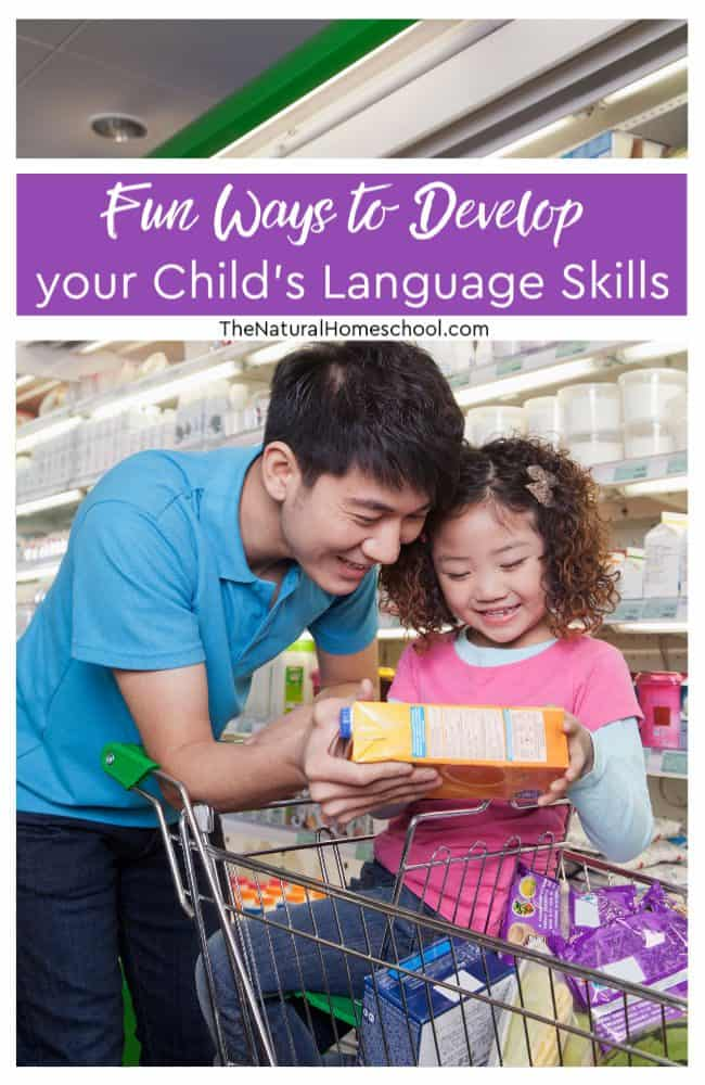 Language learning doesn't have to mean sitting in a classroom or doing rigid activities. There are lots of fun ways to learn a first language or even an additional language.