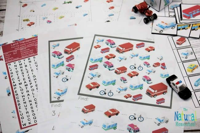 This set is Montessori friendly, too! Whether you use these in your Montessori classroom or not, these land transportation pictures to print are going the beneficial to your kids.