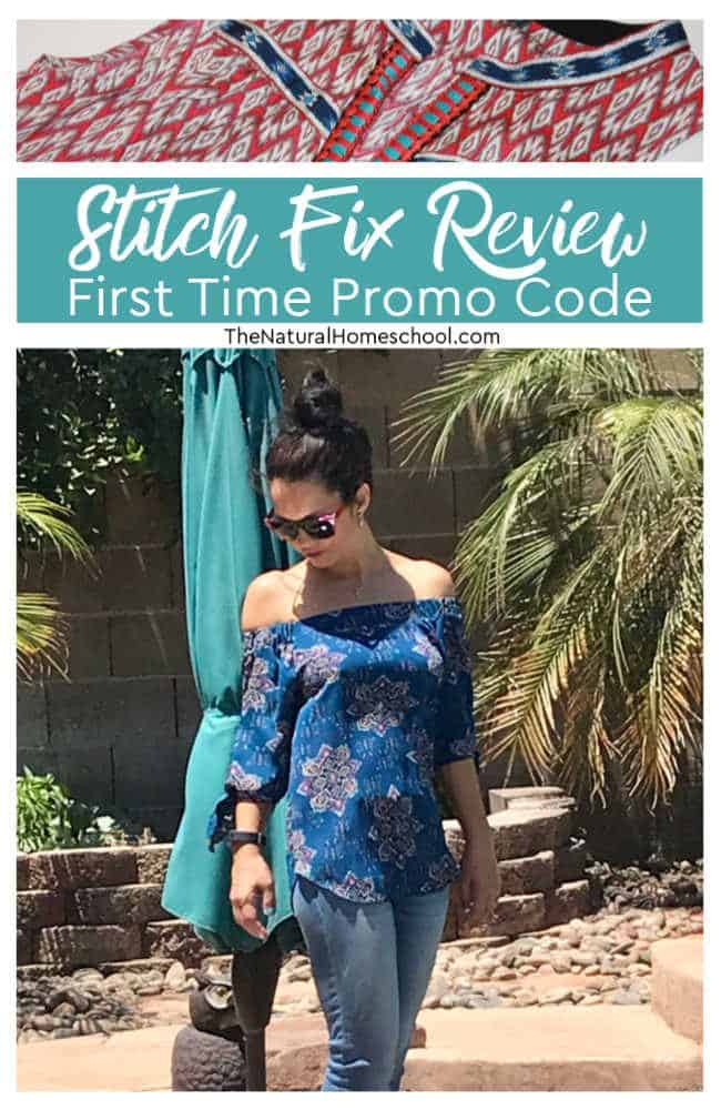 I love my subscription box! Give me a chance to let you know how to get your Stitch Fix first time promo and red our review.