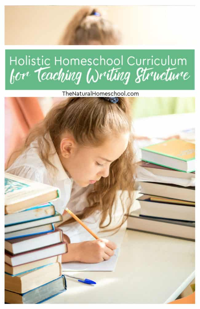 Have you been wanting to get a stout and very thorough writing holistic homeschool curriculum for your kids 3rd grade and older? Look here!