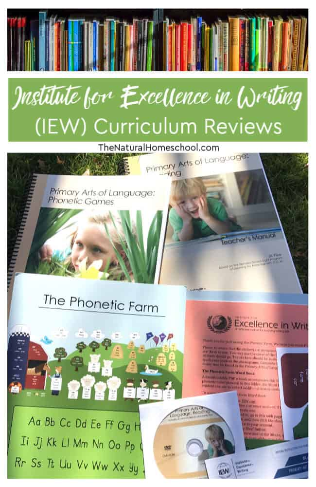 IEW has all kids need to succeed in each grade in their homeschooling journey! IEW is a leading educational publisher for children's curricula.