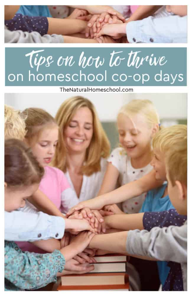 For those of us who opt to join a homeschool co-op, you know that they can be both wonderful and stressful. In this post, I will give you tips to make your homeschool co-op days less stressful.
