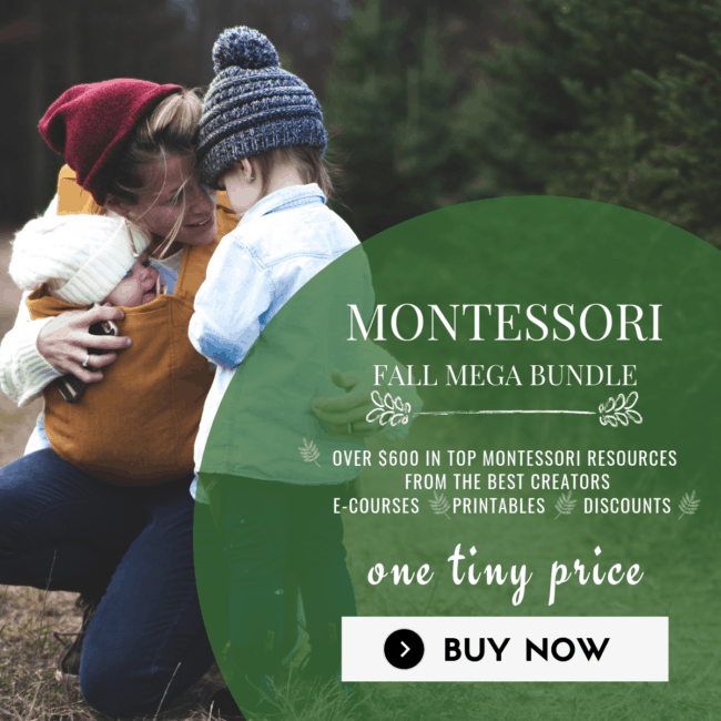 Come and take a look at this amazing Montessori Fall MEGA bundle. You will be in awe at the beauty and thoroughness in learning for this super cool bundle.