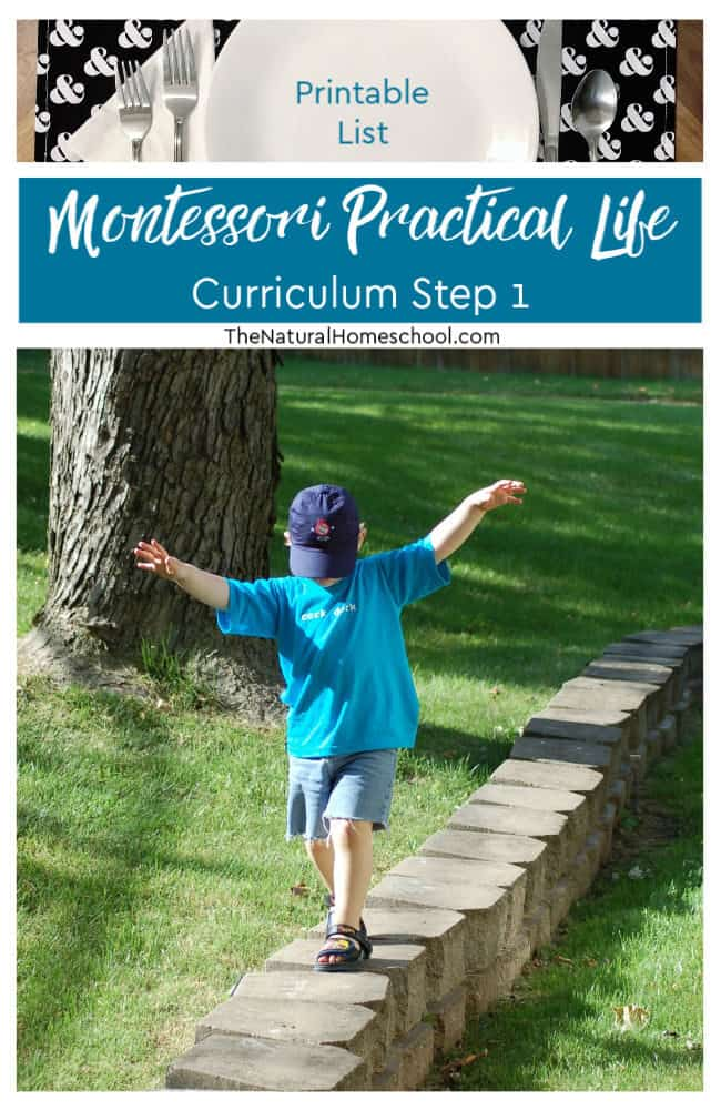 Here, we will be talking about where to start with teaching Montessori Practical Life ideas. Step one, if you will... These activities are great to introduce at around 2 or 2.5 years of age.