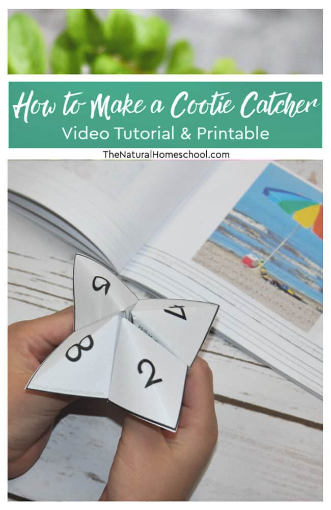 In this post, I will guide you through the process of making a cootie catcher tutorial or, as others call it, origami fortune tellers.