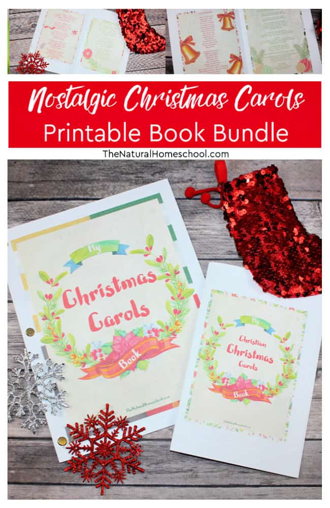 Come and take a look at this beautiful set of Christmas carols that come in a printable format.