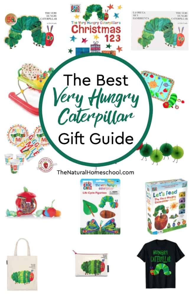 If you are looking for special gift ideas for hungry caterpillar lovers, then look at The Best Very Hungry Caterpillar Gift Guide!