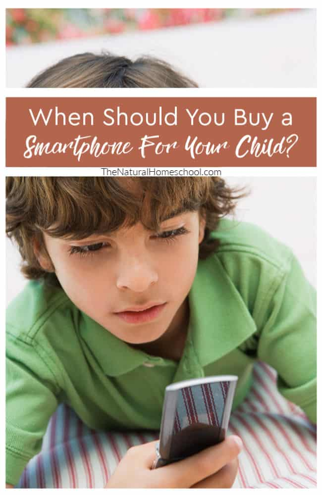 Your kids will start asking you for a mobile phone or a smartphone. It can be hard to know when the time is right.