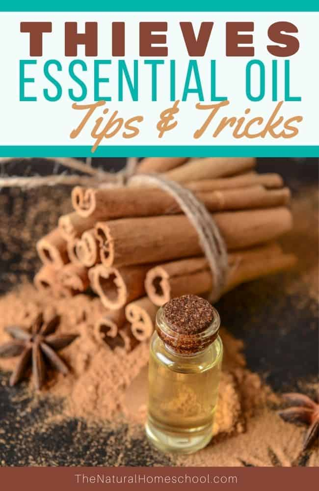 Take a look at what awesome essential oils this Thieves blend contains, 24 ways that you can use it and how you can order it.