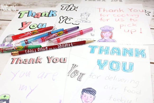 Here, we share with you 26 free printable community helpers thank you cards!