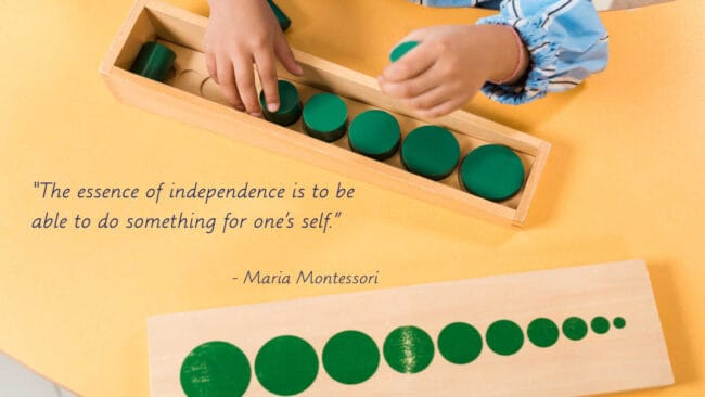 I don't want you to feel that way and be in limbo without knowing where to go or what to do, especially if you are doing Montessori at home!