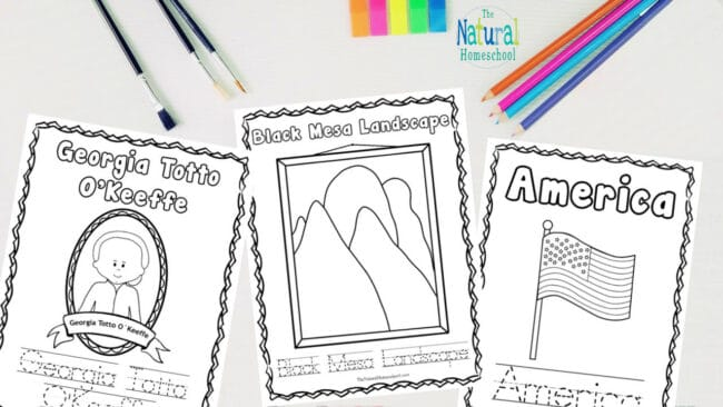 Come and check out our 30-page famous artists for kids - printable activities bundle!