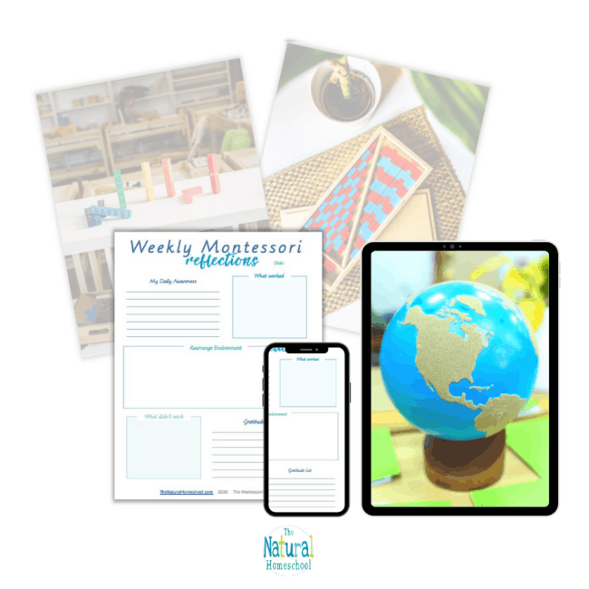 In this post, I want to share with you an easy way to do weekly reflections with a complement to your Montessori curriculum (a PDF free download).