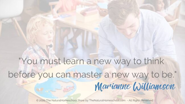 As you delve deeper into your job responsibilities as the Montessori Guide in the Montessori environment, you will need to look in before looking out.