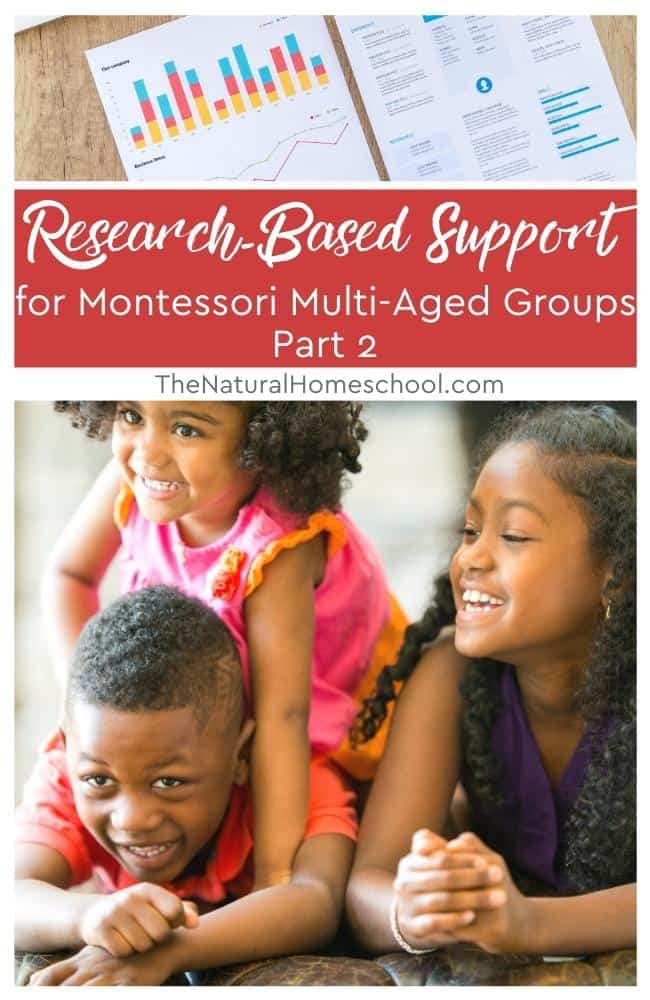 Today, we are going to be talking about the Montessori way of multi-age groups and some of the benefits of it.