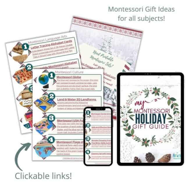The Holiday Montessori gift guide is here! I have made it super easy for you to access these amazing ideas!