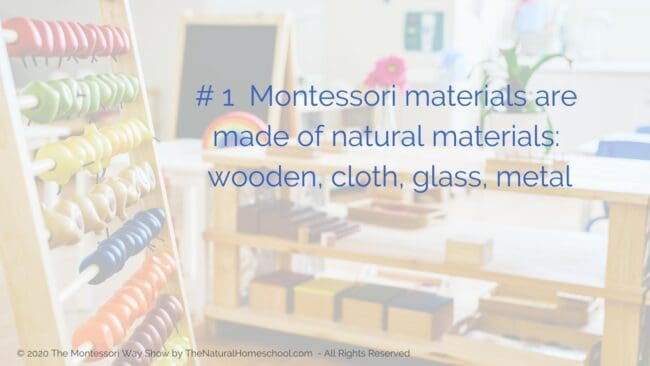 When it comes to Montessori materials, they will set themselves apart for their beauty, usability, durability and educational value.