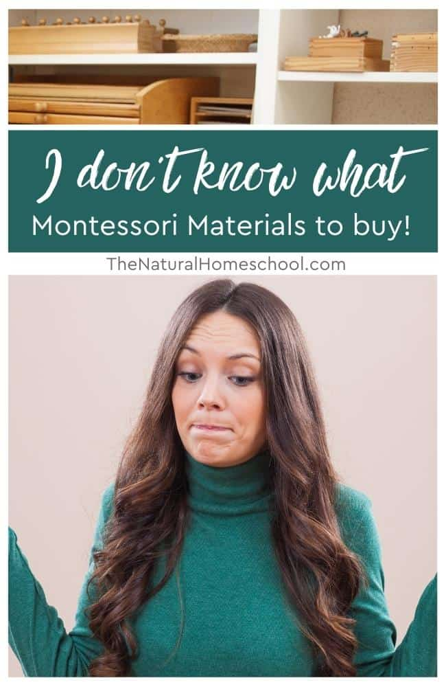 Do you need help knowing where to turn when it comes to getting the right Montessori materials for your children right here, right now? I'm here to help!
