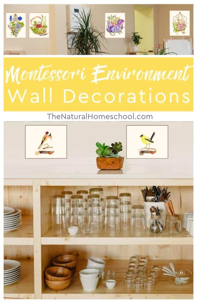 Are you wondering how to decorate your Montessori environment that align with the Montessori principles? Come learn more about how to create a Montessori environment at home with beautiful decorations.
