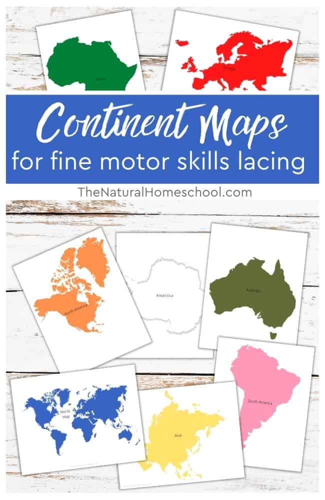 In this post, we will be talking about a way to learn about Montessori Geography, in this case, the continents of the world and at the same time, learn a Practical Life skill.