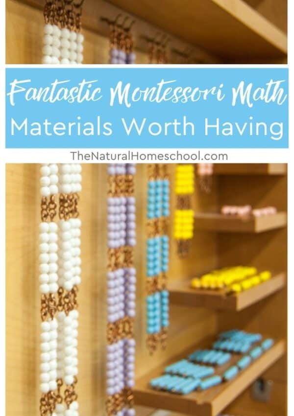 In this training, we will be discussing some Montessori Math materials that you can buy that will make all the difference in how children learn.