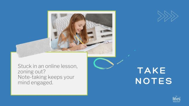 In this training, we are going to focus on home learning tips for older students (upper elementary and middle school).