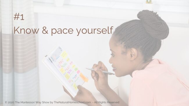 Here are three very important things to do to keep you confident and successful on the right Montessori schedule!