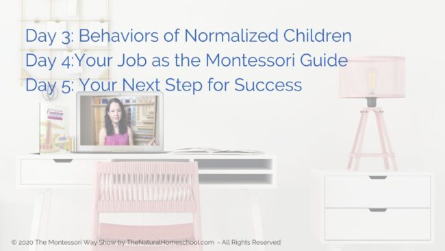 In this training, we will be discussing why you should attend The Montessori Way Foundations Workshop.