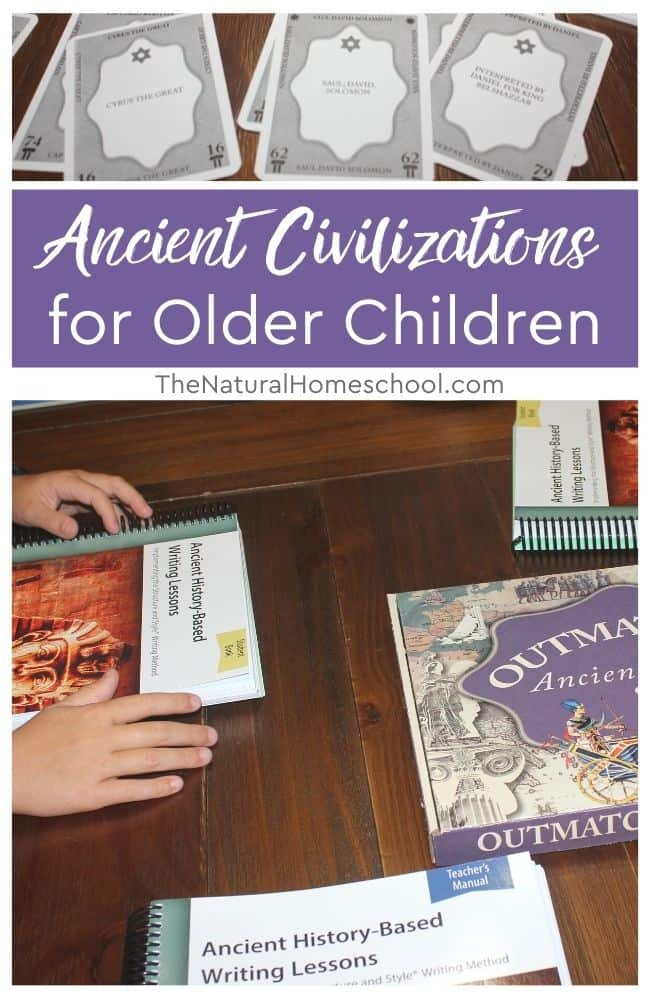 In this post, I am going to show you the curriculum that we are using for our History studies, but to be more specific, we will be going into Ancient History.