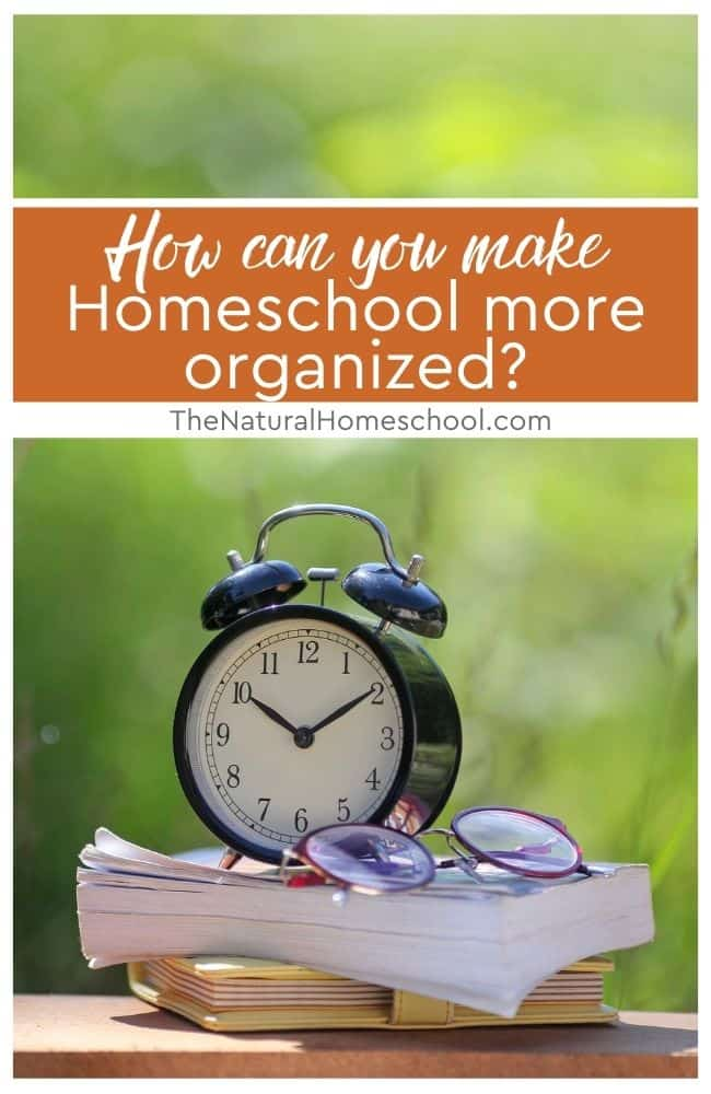 Getting organized and planning lessons and ideas ahead of time will really help. Here are some tips to help to get your homeschool more organized.