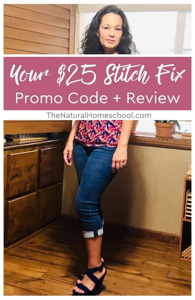 Even if you don't believe that there are fashionable clothes for homeschool moms, you would be wrong! In this Stitch Fix review, I'll explain how it's done.