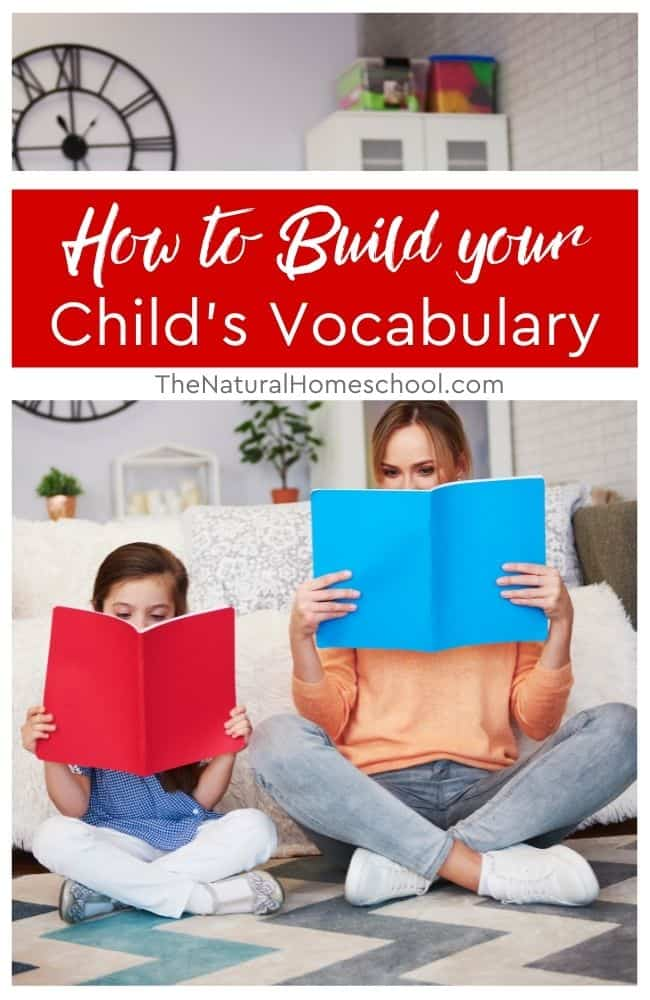 If you're looking to help your child build their vocabulary, here are a few things that might help!