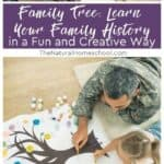 Through a family tree chart, your kids will get to know the ones who came before them, will see their faces and learn their names, occupations, and life achievements.