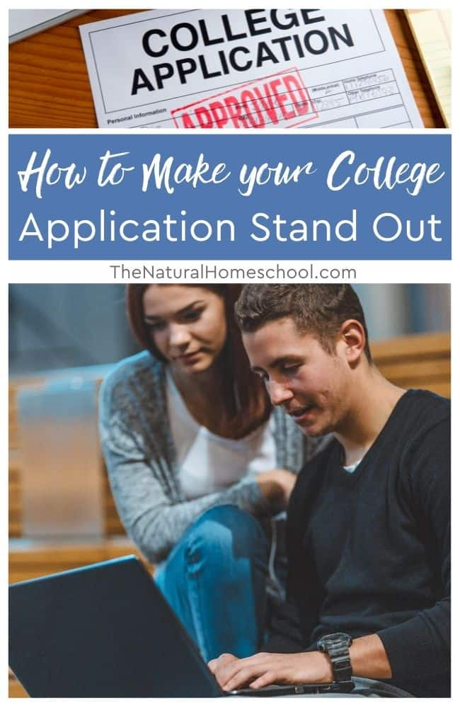 To gain your place you need to make your application stand out and be distinguishable from the rest and here are some steps you can take to help you do that.