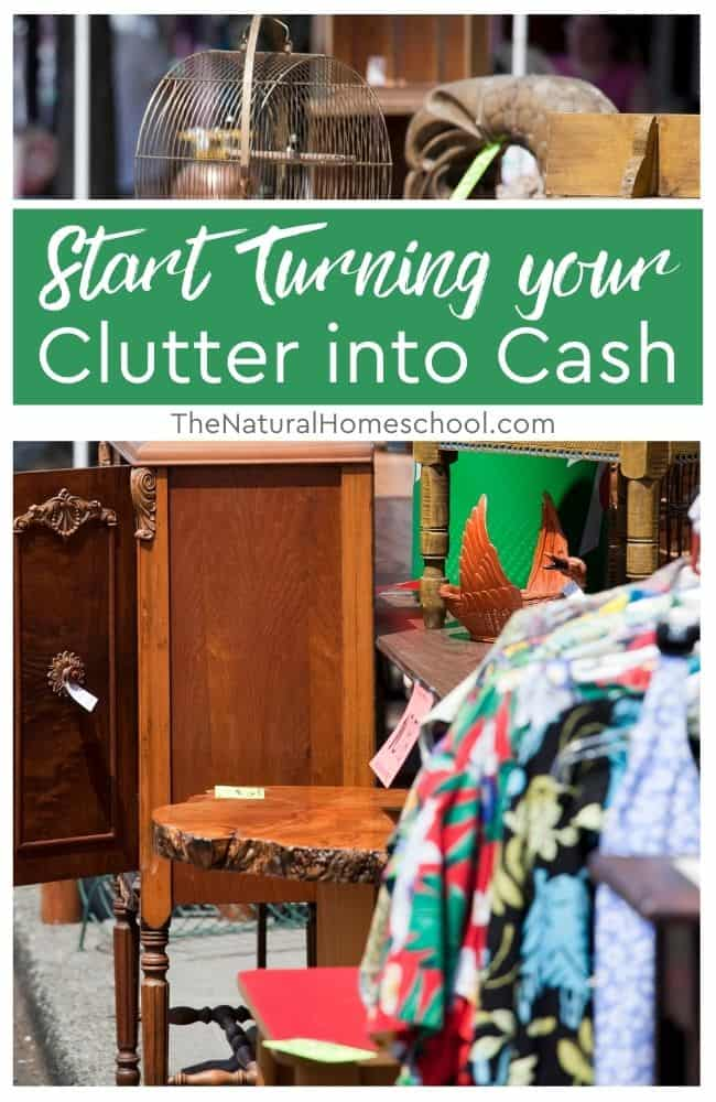 In this post, we share a few items in your home that you could sell to earn some extra money.